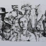 Gerard_Byrne_Eve_contemporary_irish_art_charcoal_sketch