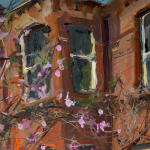 Gerard_Byrne_irish_artist_Beautiful_Moments_in_Time_modern_impressionism_painting_detail