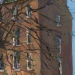 Gerard_Byrne_Huband_Bridge_on_St_Patrick's_Day_Dublin_modern_irish_impressionism_painting_detail