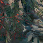 Gerard_Byrne_New_Beginnings_contemporary_impressionism_painting_detail