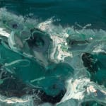 Gerard_Byrne_Watching_the_Waves_III_contemporary_irish_art_painting_detail