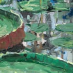 Gerard_Byrne_Blossoms_For_Breakfast_contemporary_impressionism_painting_detail_Singapore_Botanic_Gardens