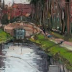 Gerard_Byrne_Another_Grey_Morning_in_Dublin_modern_irish_impressionism_painting_detail