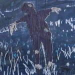 Michael Raedecker, pathway, 2021