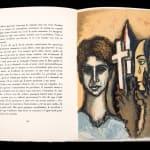 Syed Sadequain, Untitled (Adam and Eve), 1975