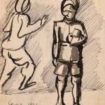 Francis Newton Souza, Untitled (Venus), 1949