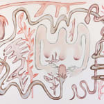 Anousha Payne, SURAHONNE/FOREST (PLAN FOR A TABLE), 2021