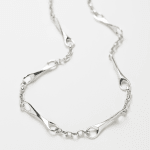 Paul Hatton, Sterling silver Infinity Necklace