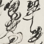 Wei Ligang 魏立刚, Shadow Cursive 1 叠影草书(1), 2012