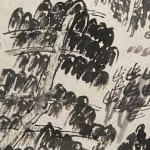 Xu Bing 徐冰, Book from the Sky, Printed Sheet No. 8 天书单张8号, 1987-90