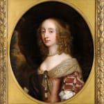 Sir Peter Lely, Miss Ada Gossett, Circa 1673