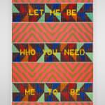 Jeffrey Gibson, Please Don't Go, 2015