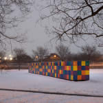 Tony Tasset, Rainbow, 2012