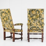 Pair of French 19th Century Tapestry Armchairs