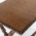 Mid 19th Century Inlaid Oak Centre Table