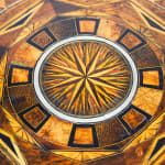 Late 19th Century Specimen Wood Inlaid Octagonal Occasional Table