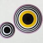 Hana Moore, What Lies Beneath - Yellow, Grey, Green, Purple No 1, 2017