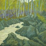 CHERYL CULVER, SPRING IN THE GORGE