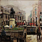 ROBERT WELLS, WHITEHALL AFTER THE RAIN