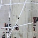Mary Didoardo, White Loop on Tan, 2013