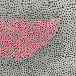 detail of dots and small pink shape