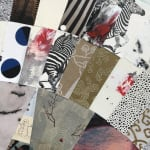 Detail of collage
