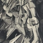 MR ca.1920 Nude Descending a Staircase by Marcel Duchamp