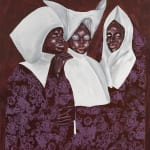 Emmanuel Taku, Four Brothers in White, 2021
