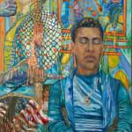 José Lozano, Tamale Lady Wallpaper Swatch, 2020