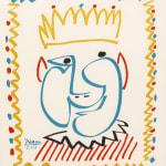 Pablo Picasso, Visage géométrique, 1965