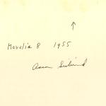 Aaron Siskind, Morelia 8, 1955