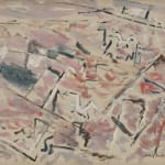 John Marin, Sea in Red, Version I, 1948