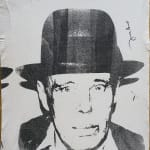 Andy Warhol, Portrait from the late 50´s, 1957 / 1958
