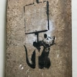 Banksy, 'I wanted wine women and song...' SOLD, 2005