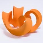 Merete Rasmussen, Undulating Orange, 2021