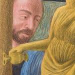 Elijah Burgher, Cybele (after Mantegna), 2020