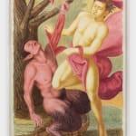 Elijah Burgher, Apollo flaying Marsyas, 2021