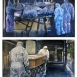 Ronald Binnie, Zoonosis - Wild/Domestic/Transmission/Human, 2020