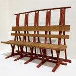 Keith Rand RSA, Actual size maquette for Glasgow GOMA seat end, around 1995