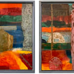 Francis Convery RSA, Away 1 & 2 (diptych), 2019