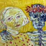 Joyce Cairns PRSA, Conversation with a Leghorn