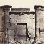 Wilhelm Hammerschmidt, Obelisque de Cleopatre, a Aexandrie d'Egypte, c. 1860