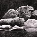 John Sexton, Frost Covered Boulders, Yosemite, CA, 1980