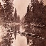George Fiske, Mirror View of Sentinel Rock, Yosemite, c. 1880