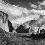 Ansel Adams, Yosemite Valley from Inspiration Point, c. 1936