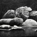 John Sexton, Frost Covered Boulders, Yosemite, CA, 1980