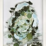 Gregory Euclide mixed media abstracted nature scene