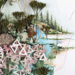Gregory Euclide, I Know Your Fences Are Pools Passing Through Meaning, 2012