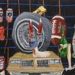 Emilio Villalba objects painting
