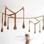 Ernesto Neto, Installation view Trace, First Liverpool Biennial, Tate Gallery, Liverpool, 1999